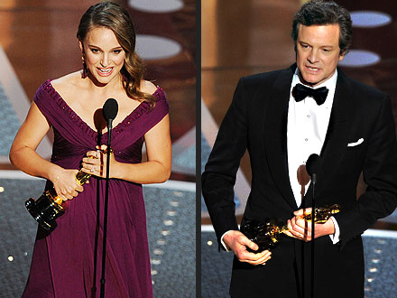 Oscars Winners: Natalie Portman, Colin Firth, King's Speech