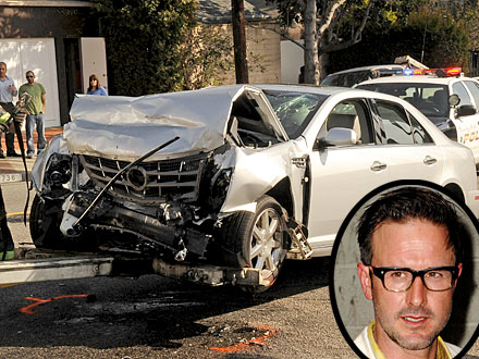 David Arquette: 'I'm Fine' After Car Accident