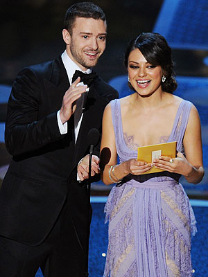 Justin Timberlake, Mila Kunis in Friends with Benefits