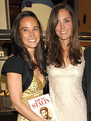 Kate Middleton's sister Pippa to be her lady-in-waiting?
