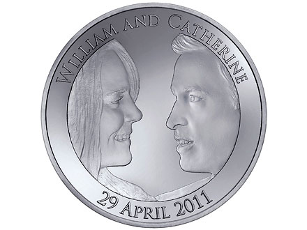 Royal Mint Issues Official Wedding Coin