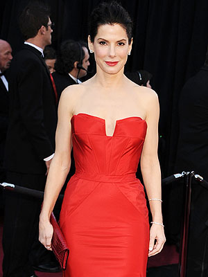 Oscar Red Carpet 2011 - Sandra Bullock's Oscar Night
