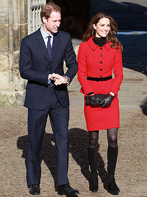 Kate Middleton Wears Luisa Spangoli on St. Andrews Visit