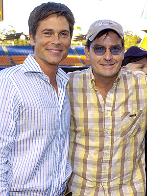 Charlie Sheen: Rob Lowe Should Star in Two and a Half Men