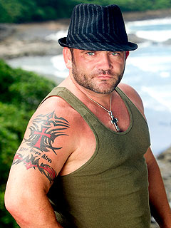 Russell Hantz Eliminated form Survivor: Redemption Island
