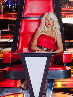 The Voice - Christina Aguilera to Coach