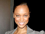 Tyra Banks Dines Poolside in Miami | Tyra Banks