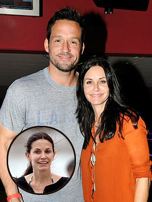 Courteney Cox, Josh Hopkins Vacation Strictly Platonic
