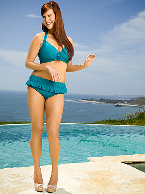 Sara Rue in a Bikini After Losing 50 Lbs.