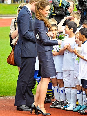 Kate Middleton's Sensible Blue Heels Can Be Yours