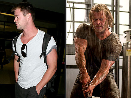 Thor&#39;s Chris Hemsworth Gained 20 Lbs.