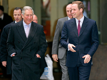 Prince William to Spend Evening Before Wedding with Prince Charles