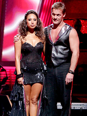 Dancing with the Stars Elimination: Chris Jericho, Cheryl Burke