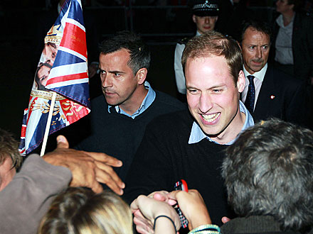 Prince William: 'I Hope I'm Not Too Nervous'