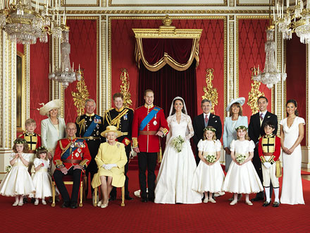 Royal Wedding: Official Portraits of The Duke and Duchess of Cambridge
