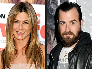 Justin Theroux with Jennifer Aniston at Actors Studio