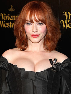Christina Hendricks's Breasts Are Real, Thank You Very Much