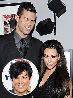 Kim Kardashian's Mom Approves of Kris Humphries