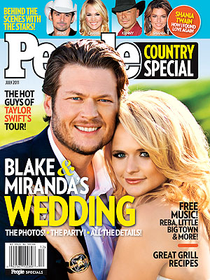 Miranda Lambert, Blake Shelton Wedding: Go Inside