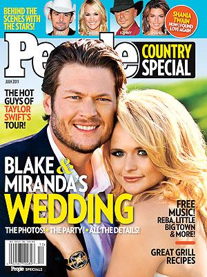 Miranda Lambert, Blake Shelton Wedding: Go Inside