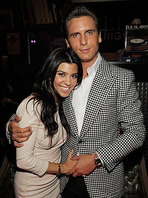 Kourtney Kardashian Celebrates Scott&#39;s Birthday
