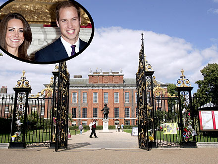 kate middleton prince william move into kensington palace