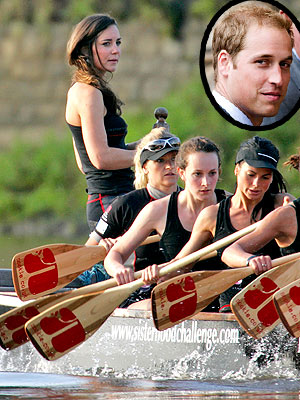 Prince William & Kate to Face Off in July 4 Dragonboat Race