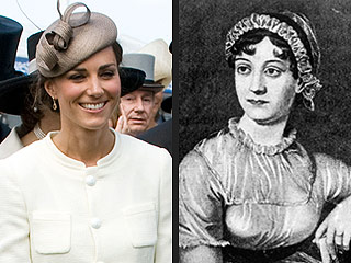 Kate Middleton, Jane Austen Distant Cousins