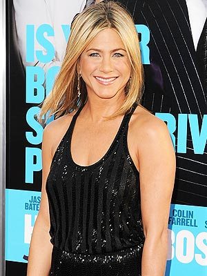 Jennifer Aniston, Justin Theroux Dating at Horrible Bosses Premiere