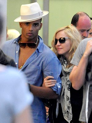 Madonna & Brahim Zaibat's Paris Weekend