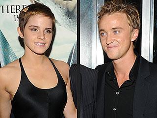 Emma Watson Had Crush on Harry Potter's Tom Felton