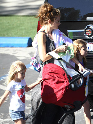 Denise Richards Adopted Daughter Eloise Pictures