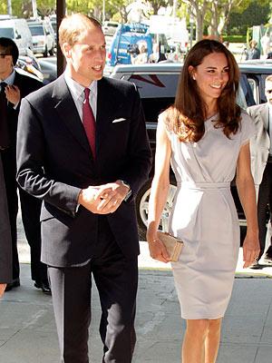 Prince William & Kate See Bridesmaids
