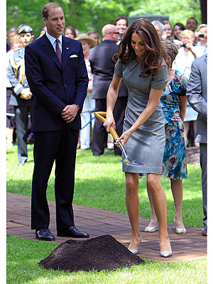 Prince William & Kate Middleton Canada Tour: Plant a Tree