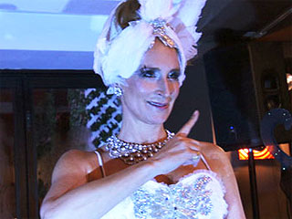 Real Housewife of NY Sonja Morgan's Really Weird Party