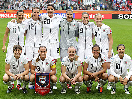 US Soccer Women Head to Finals - Meet the Team