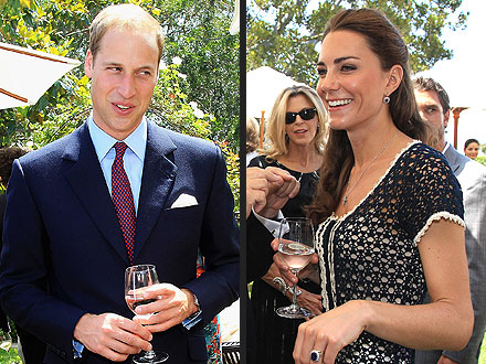 Prince William, Kate Middleton L.A. Visit Menu