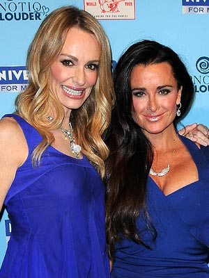 Kyle Richards on Suicide of Taylor Armstrong's Estranged Husband