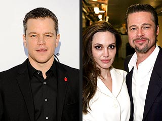 Brad Pitt & Angelina Jolie 'Are Like Prisoners': Matt Damon