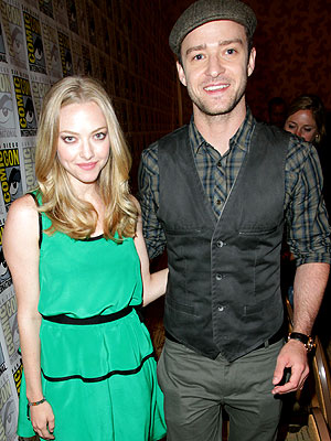 Justin Timberlake and Amanda Seyfried Costars in film In Time