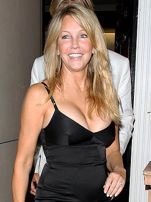 Heather Locklear Looks Great in London