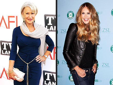 Helen Mirren, David Beckham: Bodies of the Year