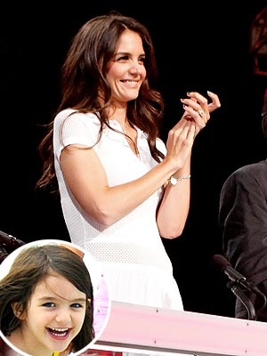 Suri Cruise, Katie Holmes at So You Think You Can Dance