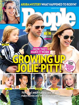 Angelina Jolie, Brad Pitt: Inside Their Family