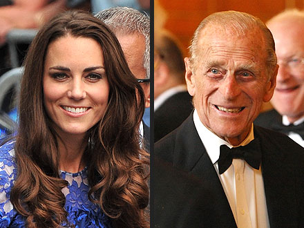 Kate Middleton Gets Household Advice from Prince Philip