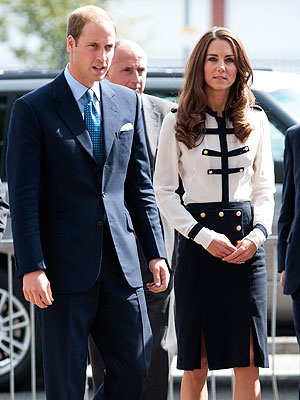 Prince William & Kate Visit Area Affected by London Riots