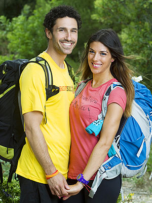 Ethan Zohn and Jenna Morasca Explain Amazing Race Elimination