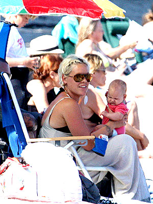 Pink, Baby Willow in Malibu