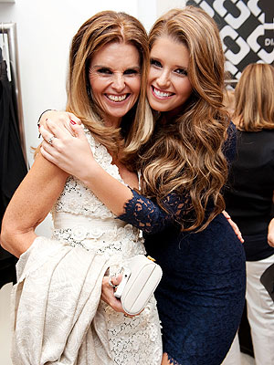 Maria Shriver & Katherine Schwarzenegger at Fashion Night Out Pictures