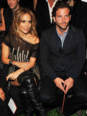 Jennifer Lopez and Bradley Cooper Dinner for Business Only